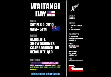 Waitangi Day Redcliffe 9 Feb 2019